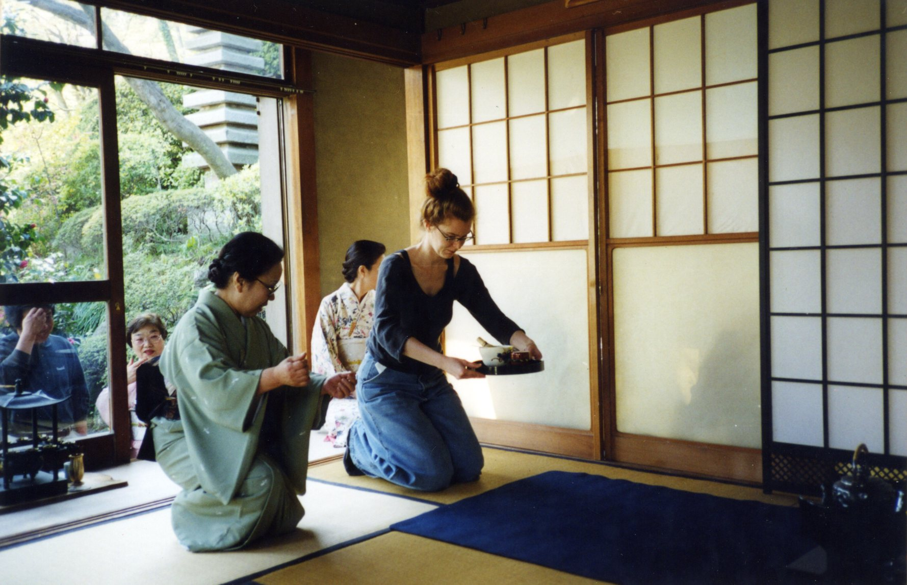 Ellis Avery at Tea Ceremony