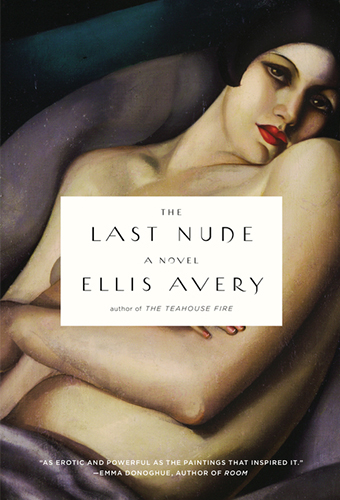 The Last Nude Cover - Ellis Avery